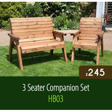 3 Seater Companion Set HB03