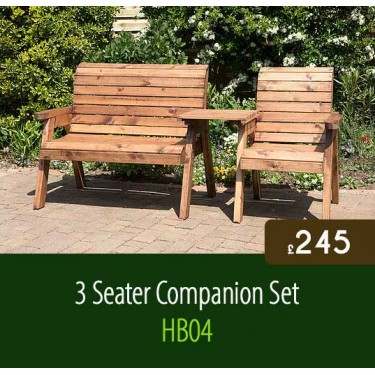 3 Seater Companion Set HB04