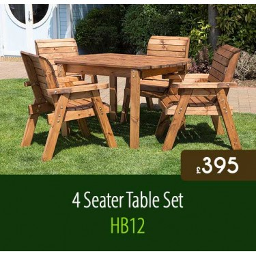 4 Seater Table Set HB12