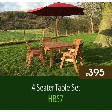 4 Seater Table Set HB57