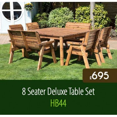 8 Seater Deluxe Table Set HB44