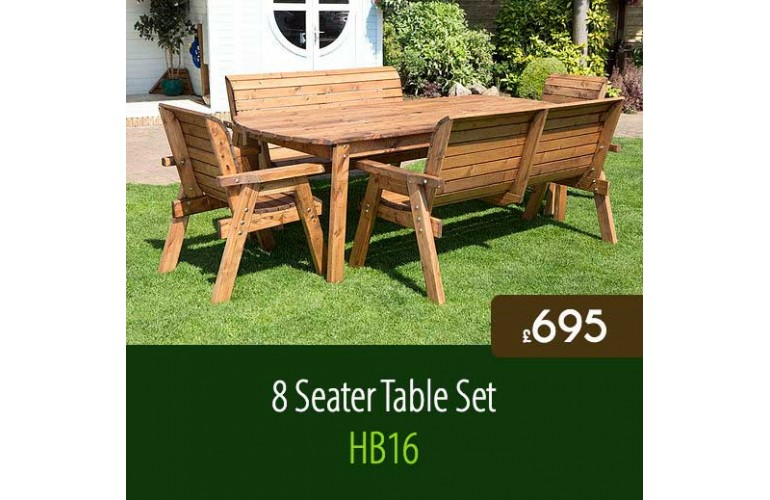 Traditional 8 Seater Table Set HB16