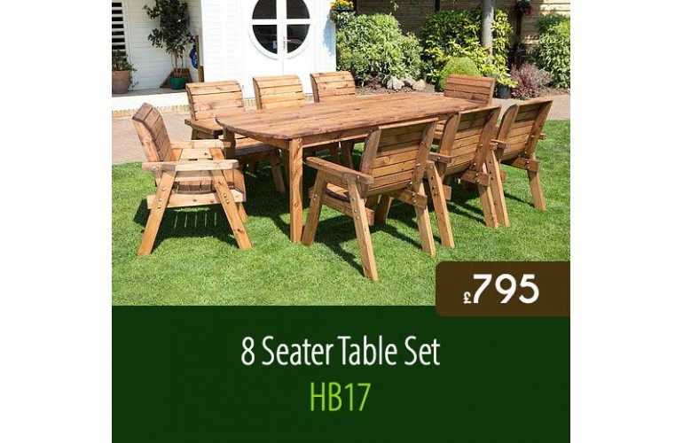 8 Seater Table Set HB17