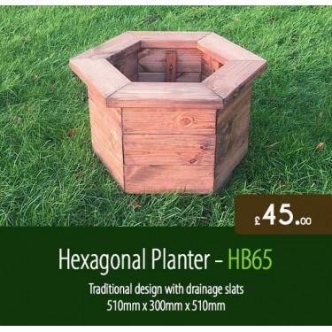Hexagonal Planter HB65