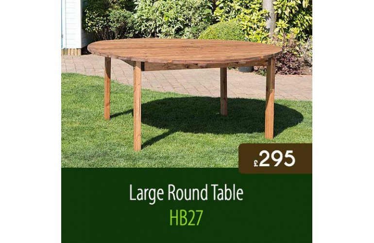 Large Traditional Round Table HB27
