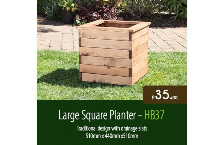 Large Square Planter HB37
