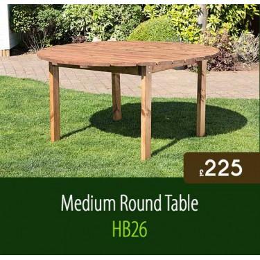 Medium Traditional Round Table HB26