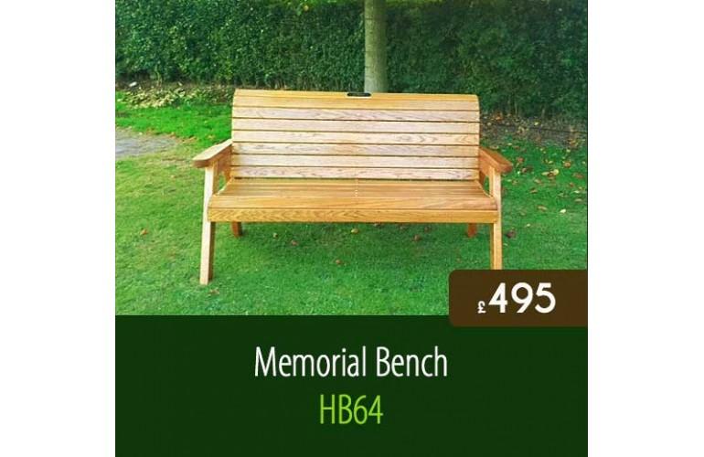 Memorial Bench HB64