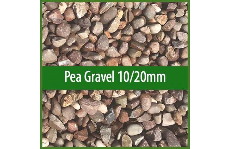 Pea Gravel 10mm-20mm   0.85 Cubic Metre Bulk Bag
