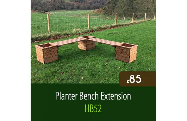 Planter Bench Extension HB52