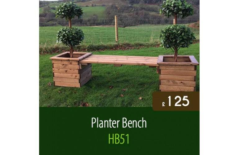 Planter Bench HB51
