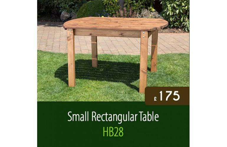 Small Rectangular Garden Table HB28