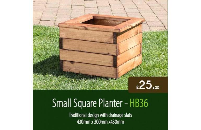 Small Square Planter HB36