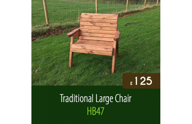 Traditional Large Chair HB47