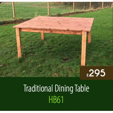 Traditional Dining Table HB61